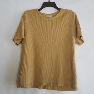 Classic Elements Gold Sweater Size XL